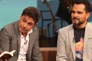 Zezé di Camargo e Luciano no 'Conversa com Bial' (Foto: Carol Caminha/Gshow)