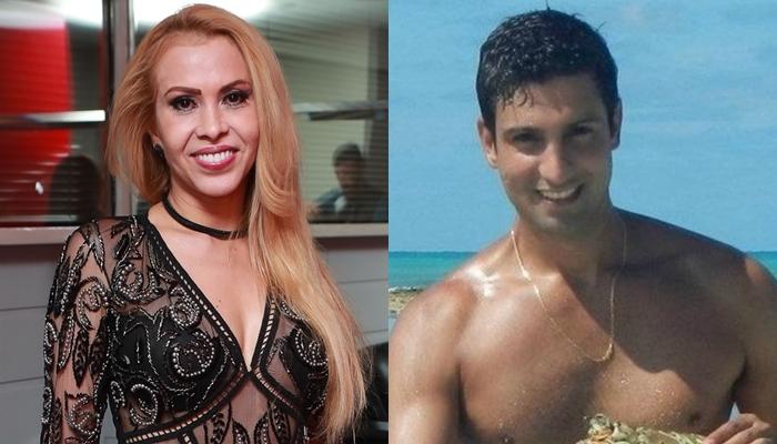 Joelma e o namorado, Alessandro (Foto: Divulgação/Reprodução/Montagem)