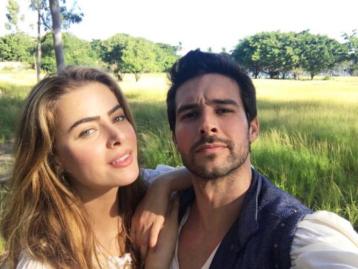 """A atriz Rayanne Morais e o ator Bernardo Velasco são os protagonistas de """"Belaventura"""" (Foto: Reprodução/Twitter)"""
