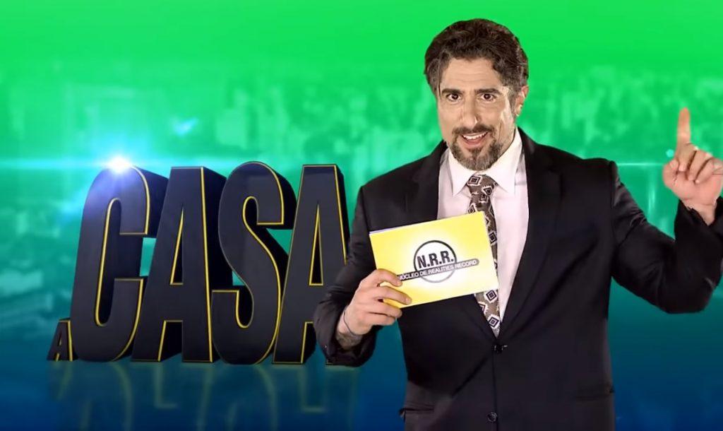 """Marcos Mion comanda o reality """"A Casa"""". (Foto: Reprodução)"""
