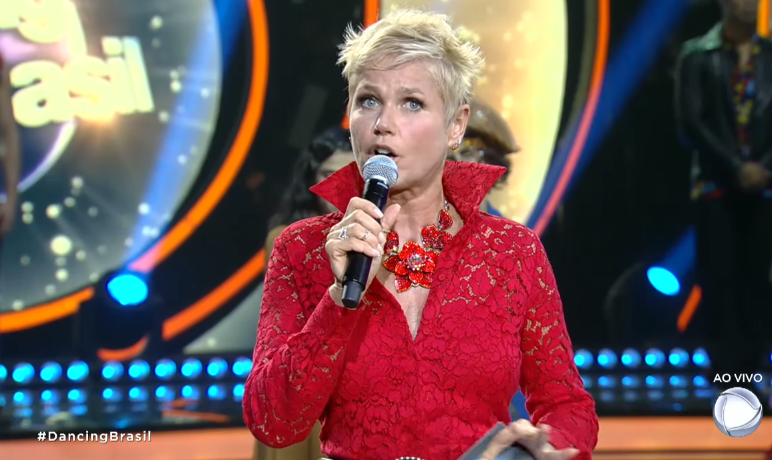 """Xuxa no """"Dancing Brasil"""" (Foto: Reprodução/Record)"""