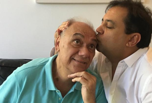 Marcelo Rezende e Geraldo Luís (Foto: Reprodução/Instagram)