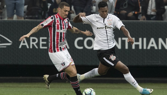 Partida entre Corinthians x São Paulo no Brasileirão (Foto: Daniel Augusto Jr./Ag. Corinthians) futebol