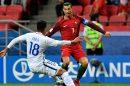 Partida entre Portugal e Chile pela Copa das Confederações (Foto: Getty)