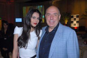 Daniela Albuquerque e o marido (Foto: Reprodução)