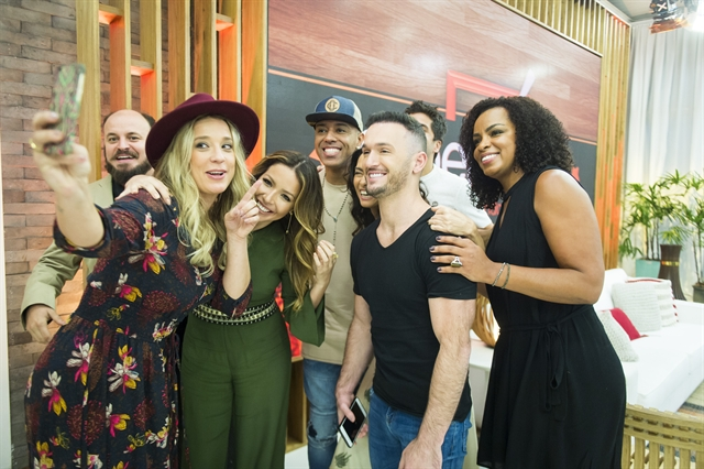 Os participantes da nova temporada do 'Super Chef Celebridades' (Foto: Globo/Raquel Cunha)