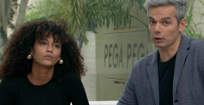 Taís Araújo dá cortada em Otaviano Costa (Foto: Divulgação)