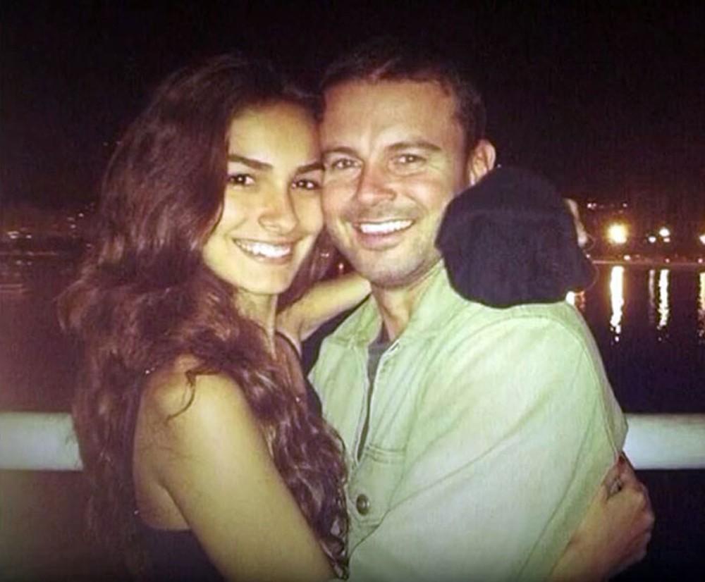 Marina Moschen e o namorado, Daniel (Foto: Arquivo pessoal)