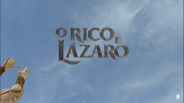 Logo da novela O Rico e Lázaro (Foto: Reprodução)