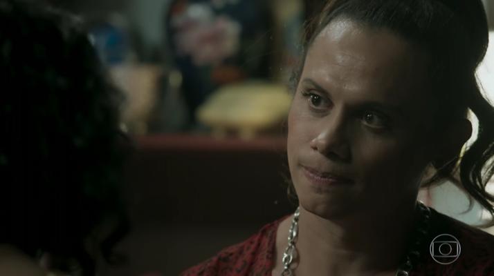 """Nonato (Silvero Pereira) em cena de """"A Força do Querer"""". (Foto: Reprodução/TV Globo)"""