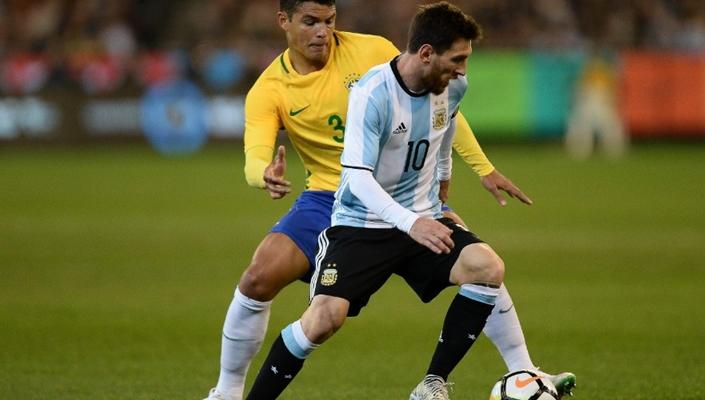 Argentina venceu o Brasil por 1 a 0. (Foto: Divulgação)
