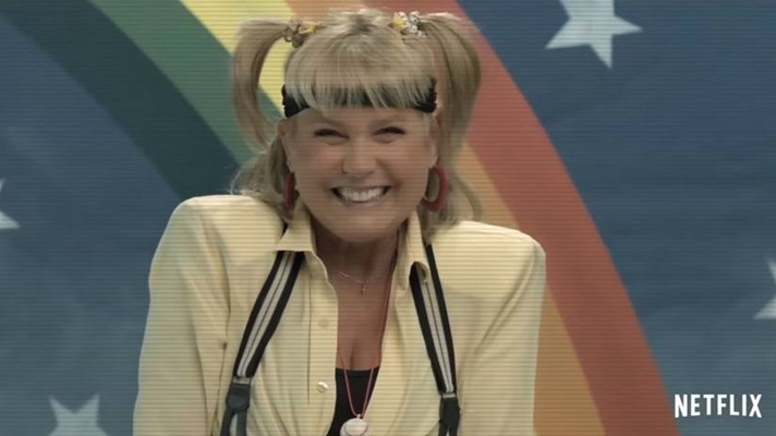 Xuxa em comercial da Netflix. (Foto: Reprodução)