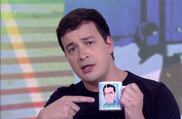 Rafael Cortez chegou a apresentar o Vídeo Show (foto: reprodução/TV Globo)