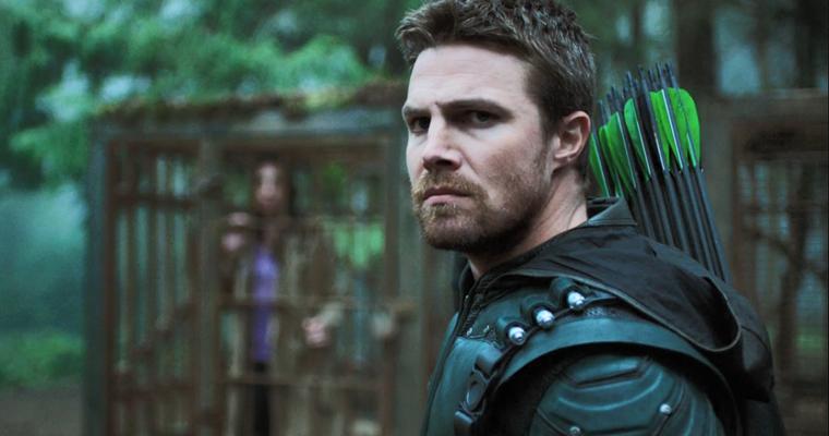 """Stephen Amell (Oliver Queen) protagonista da série """"Arrow - Arqueiro"""" (Foto: Divulgação)"""