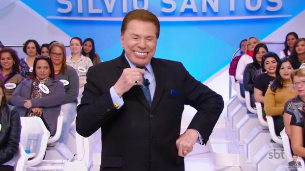 Silvio Santos, dono do SBT, desbancou a Globo (Foto: Reprodução/SBT/YouTube)