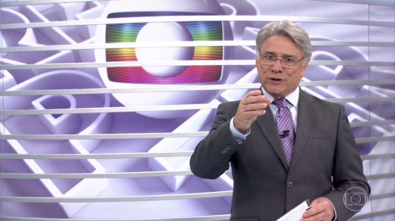"""O apresentador Sergio Chapelin no """"Globo Repórter"""" (Foto: Reprodução/Globo)"""