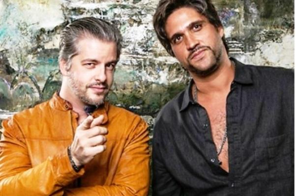 Victor e Leo anunciam turnê. (Foto: Divulgação)