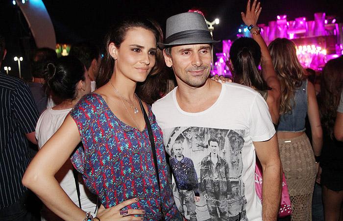 Murilo Rosa e sua esposa (Foto: Divulgação)