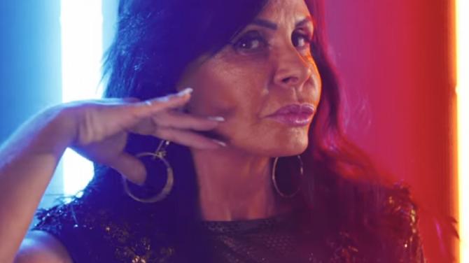 Gretchen no clipe 'Swish Swish' (Foto: Reprodução)