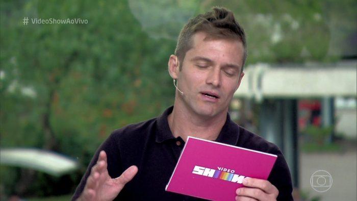 """Claudio Heinrich no """"Vídeo Show"""" (Foto: Reprodução)"""