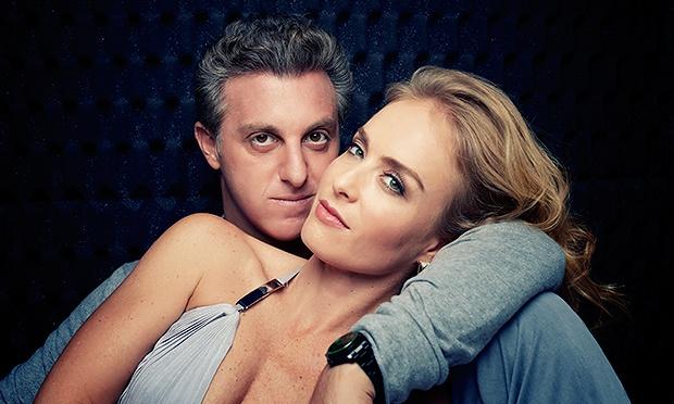 Angélica e Luciano (Foto: Reprodução)