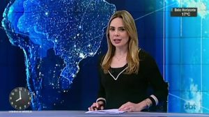 "Rachel Sheherazade no ""SBT Brasil"" (Foto: Reprodução/SBT)"
