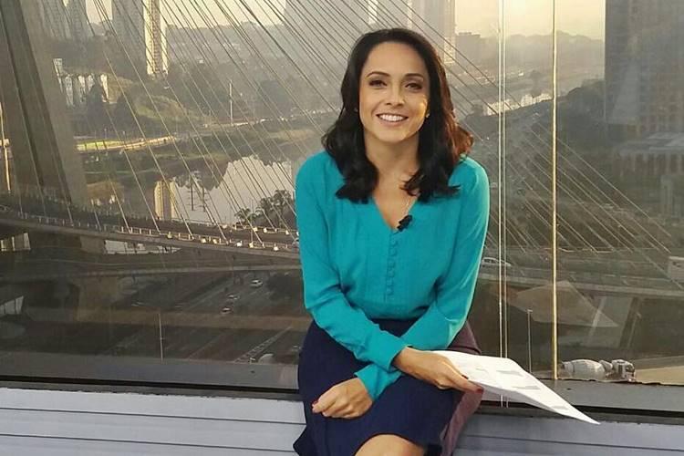 Izabella Camargo da Globo (Foto reprodução)