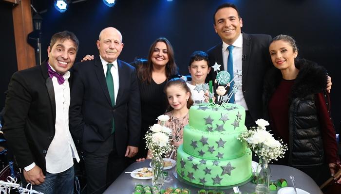 Comemoração do aniversário de 40 anos de Reinaldo Gottino (Foto: Antonio Chahestian/Record)