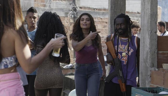 """Bibi (Juliana Paes) e Sabiá (Jonathan Azevedo) em """"A Força do Querer"""" (Foto: Divulgação/Globo)"""