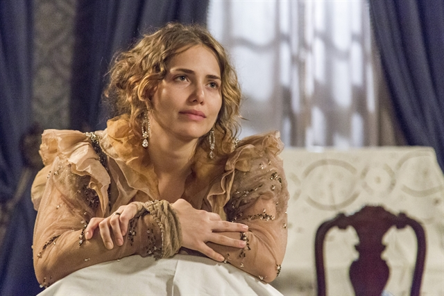 Leopoldina (Letícia Colin) em 'Novo Mundo' (Foto: Globo/Marília Cabral)