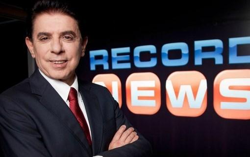 Heródoto Barbeiro na Record News (Foto: Reprodução)