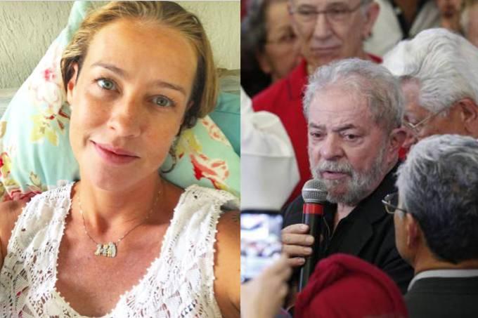 Luana Piovani e Lula (Foto: Reprodução)