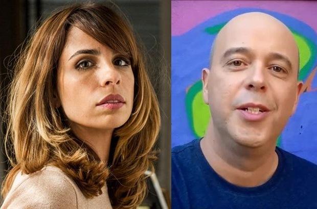 Maria Ribeiro e Escobar. Foto - montagem.