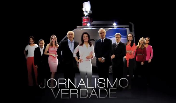 Todos. Foto do site da O TV Foco que mostra Record lança nova chamada para divulgar jornalismo confira