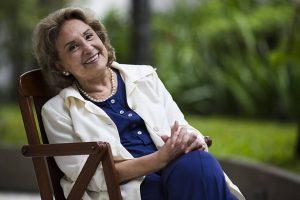 Eva Wilma. Foto do site da O TV Foco que mostra Após 3 anos, Eva Wilma volta às telinhas na Globo