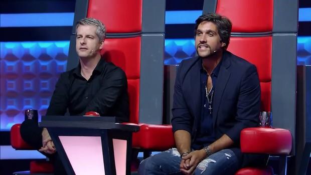 """Victor e Leo deixaram o """"The Voice Kids"""" da Globo (Foto reprodução)"""