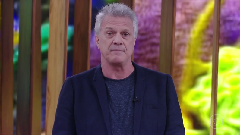 Pedro Bial durante seu programa na Globo (Foto: Reprodução/Globo)