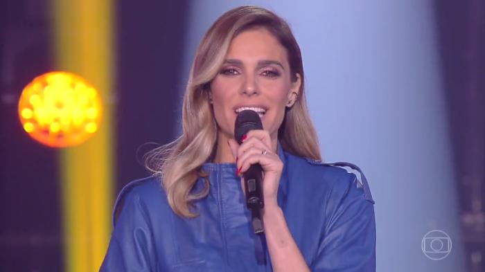 """Fernanda Lima no comando do """"PopStar"""" (Foto: Reprodução/Globo)"""