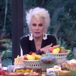 """Ana Maria Braga no """"Mais Você"""" (Foto: Reprodução/Globo)"""