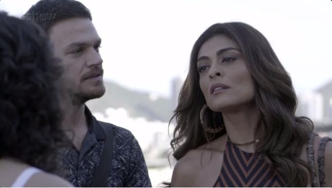 """Bibi (Juliana Paes) e Rubinho (Emílio Dantas) em cena de """"A Força do Querer"""" (Foto: Gshow)"""