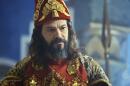 """Nabucodonosor (Heitor Martinez) em cena de """"O Rico e Lázaro"""" (Foto: Reprodução/Record)"""