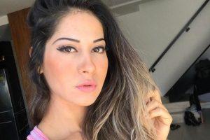 Mayra Cardi ousou em foto no Instagram (Foto: Reprodução)