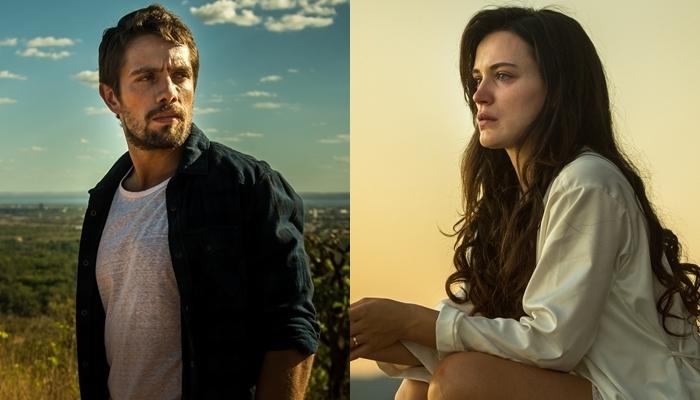 """Renato (Rafael Cardoso) e Clara (Bianca Bin) em """"O Outro Lado do Paraíso"""" (Foto: Globo/Raquel Cunha)"""