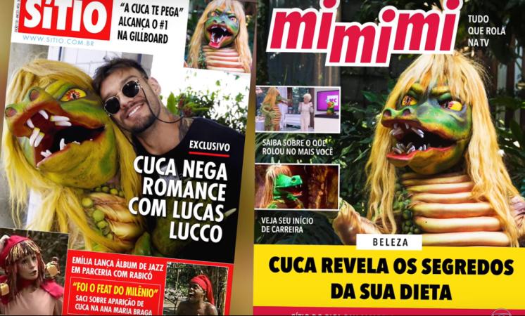 Em vídeo oficial da Globo na internet, Cuca tenta voltar para o canal