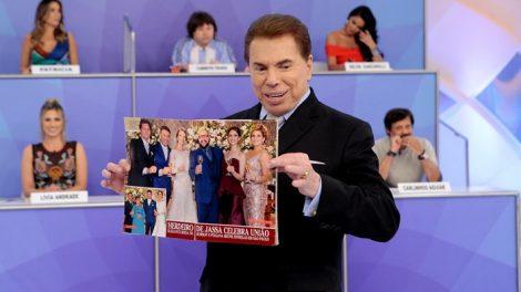 Silvio Santos durante seu programa no SBT (Foto: Lourival Ribeiro/SBT)