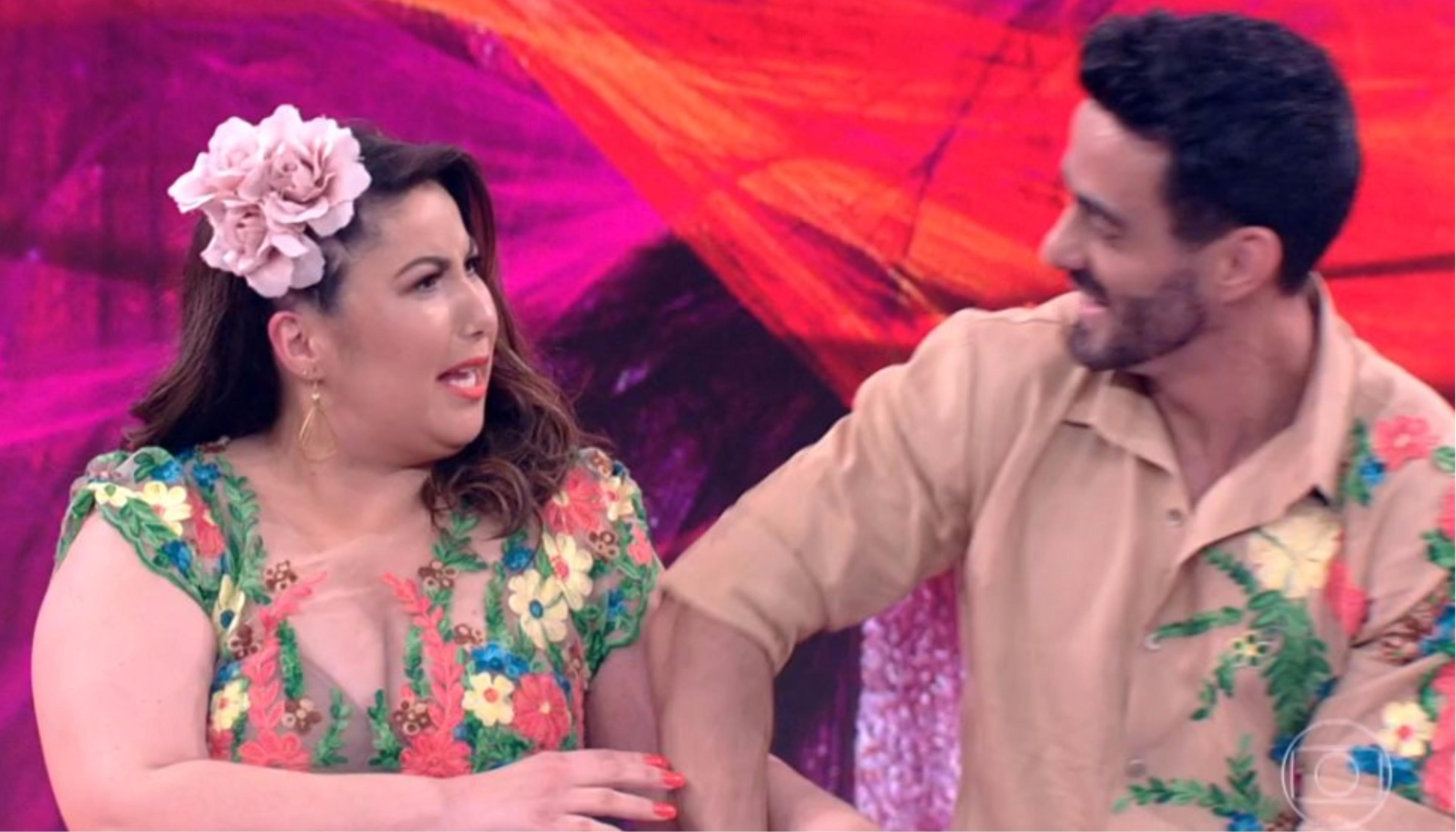 """Mariana Xavier fica chocada com nota baixa na """"Dança dos Famosos"""" (Foto reprodução)"""
