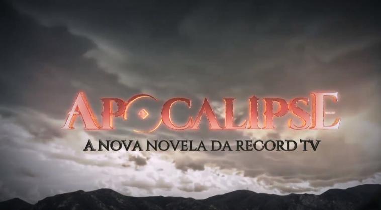 """Logo de """"Apocalipse"""" (Foto: Reprodução/ Record)"""