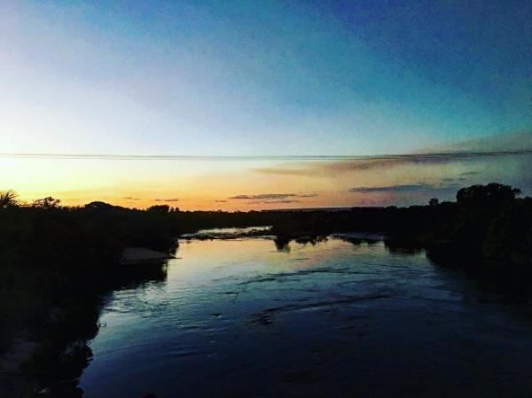 """Cenário das gravações de """"Outro Lado do Paraíso"""" (Foto: Reprodução/Instagram)"""
