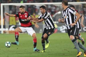 Jogo entre Botafogo e Flamengo válida pela Copa do Brasil (Foto: Gilvan de Souza/Flamengo)