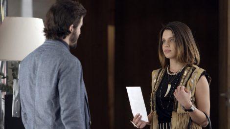 """Cibele (Bruna Linzmeyer) e Ruy (Fiuk) em cena de """"A Força do Querer"""" (Foto: Divulgação/Globo)"""